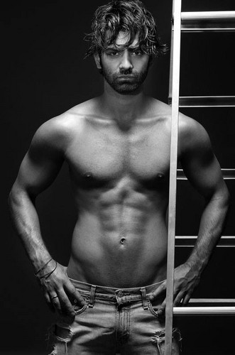 Barun Sobti wallpaper probably with a hunk, a six pack, and skin titled SEXY BARUN SOBTI
