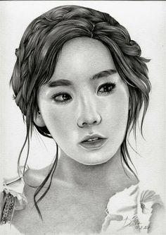 SNSD Taeyeon drawing