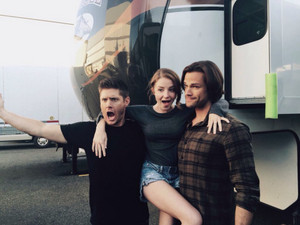 Samantha, Jared and Jensen