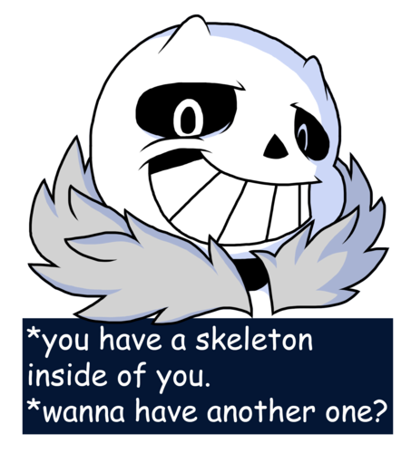 Sans (Undertale) fond d'écran called Sans No
