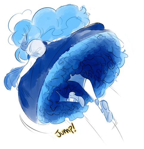 steven universe wallpaper called Sapphire
