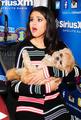 Selena and Puppy - selena-gomez photo