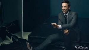Seth Meyers - The Hollywood Reporter Photoshoot - 2014