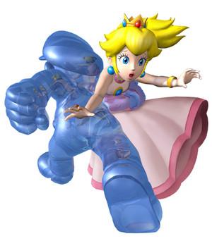 Shadow Mario Kidnaps peach, pichi