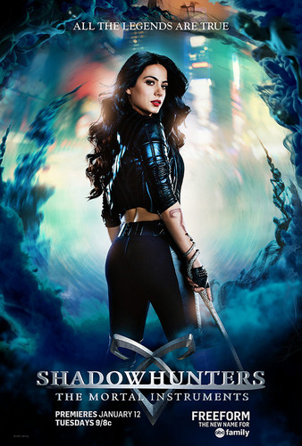 Shadowhunters TV Zeigen Hintergrund called Shadowhunters Character posters | Isabelle Lightwood