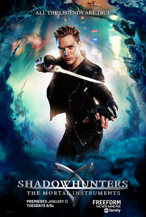 Shadowhunters Character posters | Jace Wayland