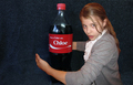 Share a Coke with Chloe chloe moretz  - coke fan art