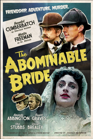 Sherlock The Abominable Bride Old Style Poster