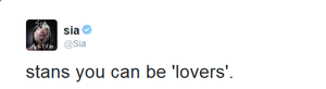 Sia's enamorados