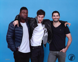 Sinqua Walls, Daniel Sharman and Tyler Hoechlin