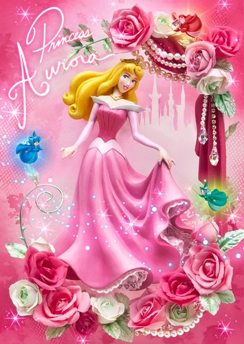 Disney Princess Kertas Dinding Containing A Bouquet Entitled Sleeping Beauty