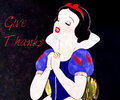 Snow White Give Thanks - disney-princess fan art