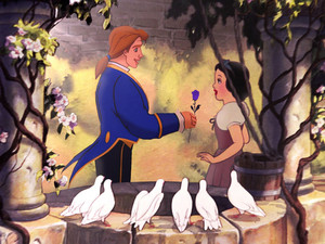 Snow white and adam