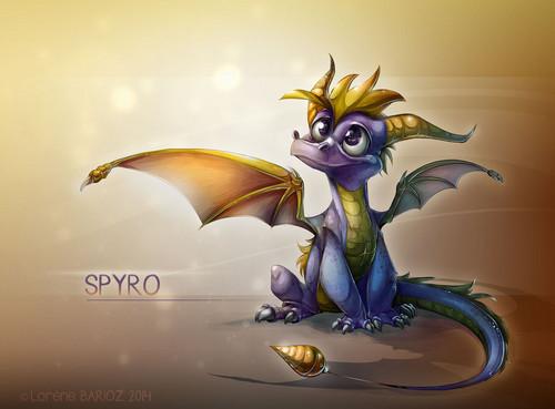 Spyro The Dragon Wallpaper Entitled