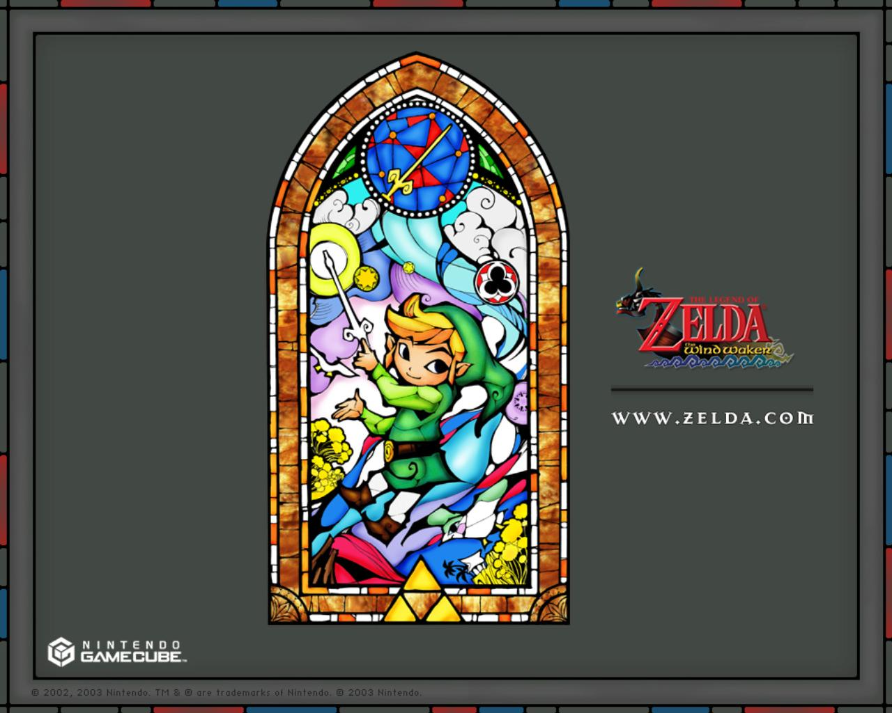 The Legend Of Zelda Images Stained Glass Wallpaper HD And Background Photos