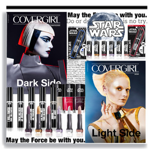 étoile, star Wars Covergirl collection