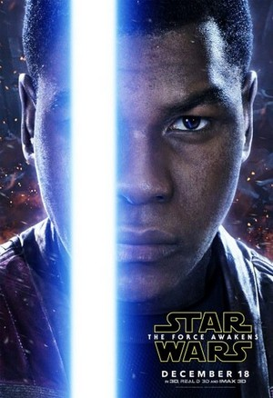 星, つ星 Wars: The Force Awakens Character Poster - Finn