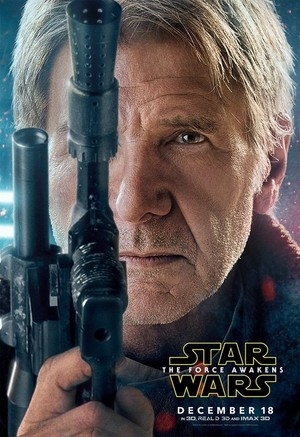 星, つ星 Wars: The Force Awakens Character Poster - Han Solo