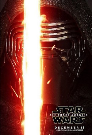 星, つ星 Wars: The Force Awakens Character Poster - Kylo Ren