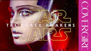 étoile, star Wars The Force Awakens CoverGirl collection
