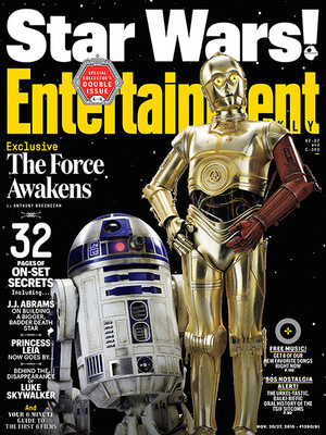 звезда Wars: The Force Awakens - Entertainment Weekly Magazine Covers