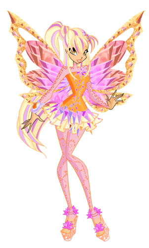 The Winx Club پیپر وال possibly containing a bouquet, a rose, and a hippeastrum called Stella Tynix