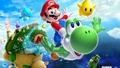 Super Mario Galaxy 2 - yoshi wallpaper