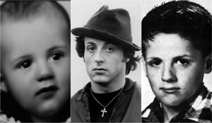 Sylvester Stallone childhood