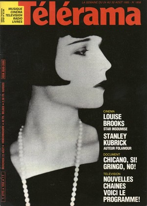 T�l�rama Magazine : Louise Brooks