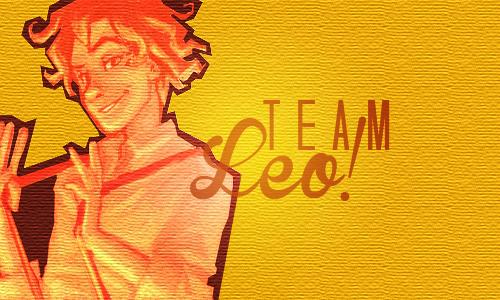 Team Leo,baby!