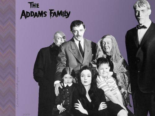 The Addams Family 1964 wallpaper probably containing a business suit and a well dressed person called The Addams Family (2a)