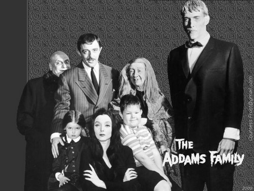 The Addams Family 1964 wallpaper with a business suit entitled The Addams Family (1)