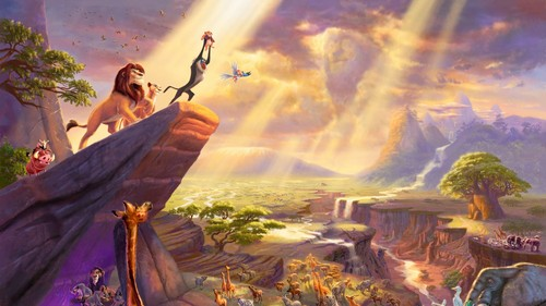 Disney wallpaper probably containing a fuoco entitled The cerchio of Life