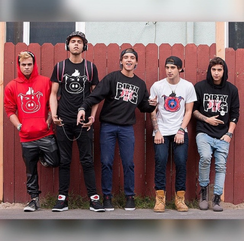 Janoskians wallpaper probably with a sign, a carriageway, and a pantleg titled The Janoskians