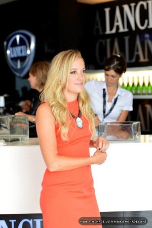 The Lancia Cafe ngày 3 - The 69th Venice Film Festival (August 31, 2012)