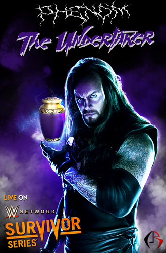 WWE kertas dinding probably containing a konsert called The Phenom-The Undertaker