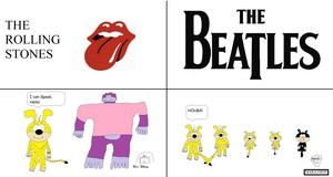 The Rolling Stones vs The Beatles