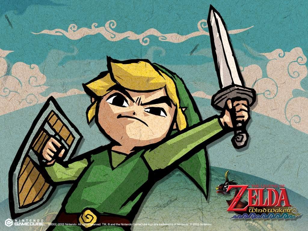 The Wind Waker La Leyenda De Zelda Fondo De Pantalla
