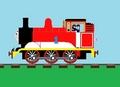 Thomas' custom paint scheme - thomas-the-tank-engine photo