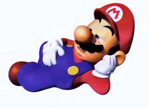 Tired Mario