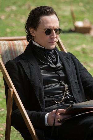Tom Hiddleston as Thomas Sharpe in Crimson Peak