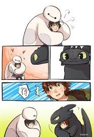Toothless is jealous