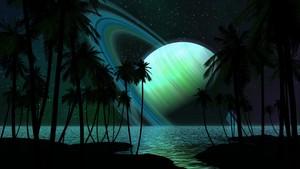Tropical Alien समुद्र तट