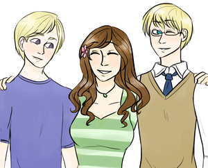 Uralic Trio. Finland, Hungary and Estonia. I like this picture too.