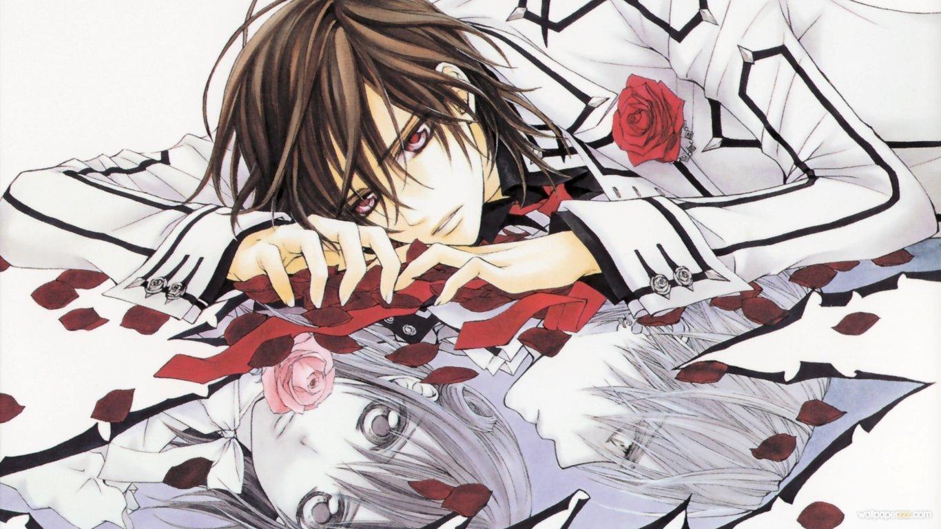 Anime Bilder Vampire Knights Hd Hintergrund And Background Fotos