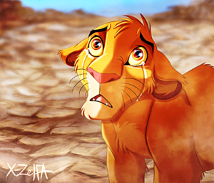 Walt Disney fan Art - Simba