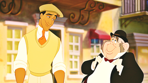 Walt disney Screencaps - Prince Naveen & Lawrence