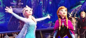 Walt 迪士尼 Screencaps - 皇后乐队 Elsa, Princess Anna, Sven & Kristoff Bjorgman