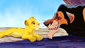 Walt disney Screencaps - Simba & Scar