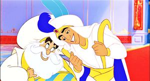 Walt disney Screencaps - The Sultan & Prince aladdin